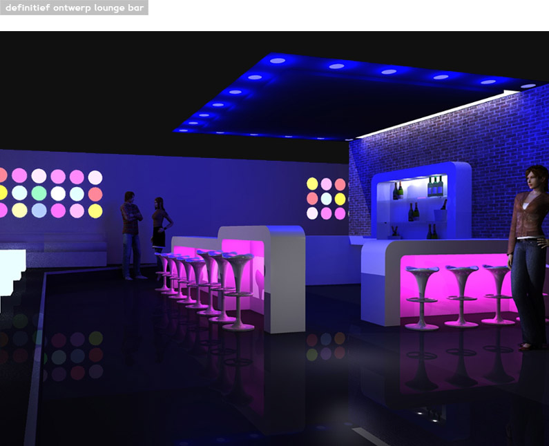 Bar com led joy studio design gallery best design for Led verlichting interieur