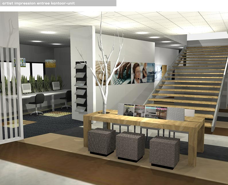 Modern kantoor interieur het beste van huis ontwerp inspiratie - Ontwerp huis kantoor ...